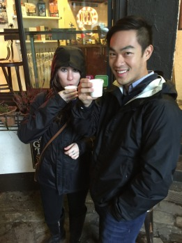 """It's a love-hate thing,"" says Val, our guide on the Seattle Coffee Crawl walking tour. ""Plenty of people in Seattle ..."