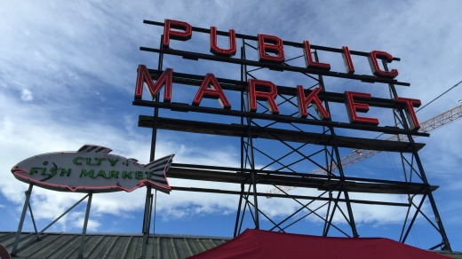Seattle's famous Pike Place Market.