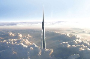 In which country is the 1000-metre high Jeddah Tower, due for completion in 2020 and set to be the tallest building in ...