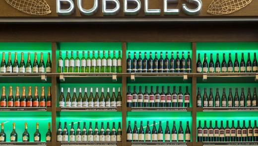 Bubbles Seafood and Wine Bar - at Amsterdam's Schiphol Airport - is a serious wine bar with an impressive range of ...