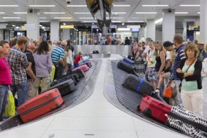 If you can travel with hand baggage only. Then you don't have to check it in or wait for it once you arrive at your ...