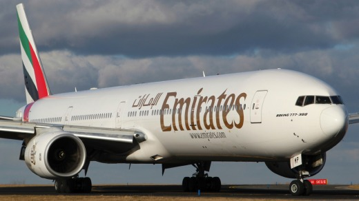 The Emirates Dubai to Venice flight has cramped seats, but there are upsides.
