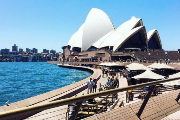 The most geo-tagged location in Australia: The Sydney Opera House.