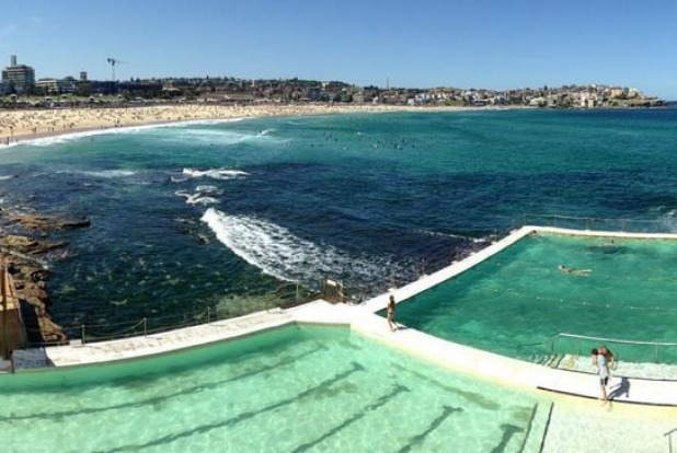 Bondi Beach in Sydney, NSW.