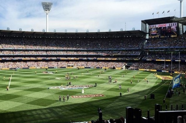 The Melbourne Cricket Ground (MCG) in Melbourne, Victoria.
