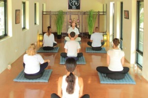 Meditation, cognitive behavioural therapy and exercise all help clients at The Cabin Chiang Mai.