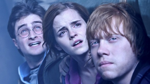 Harry, Hermione and Ron.