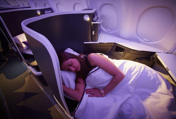Virgin Australia A330-200 Business Class.