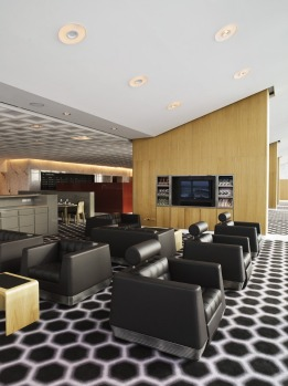 Qantas first class lounge at Melbourne Airport. Image supplied.