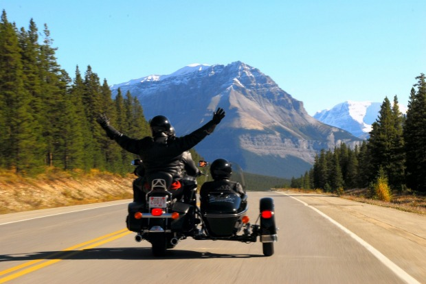 Jasper Motorcycle Tours -  a unique way to see Jasper's scenery.