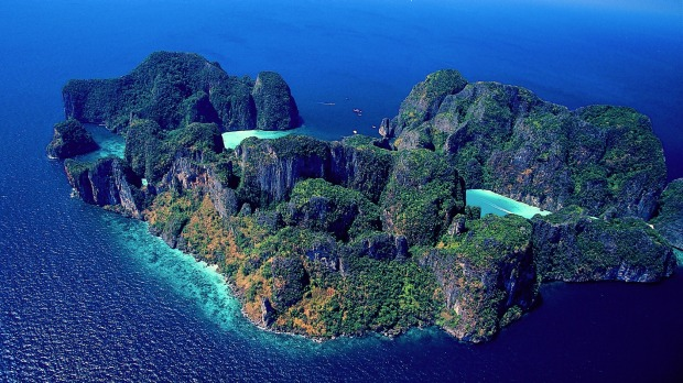 Krabi, Thailand: Scoot-Tigerair can take you there on the cheap.