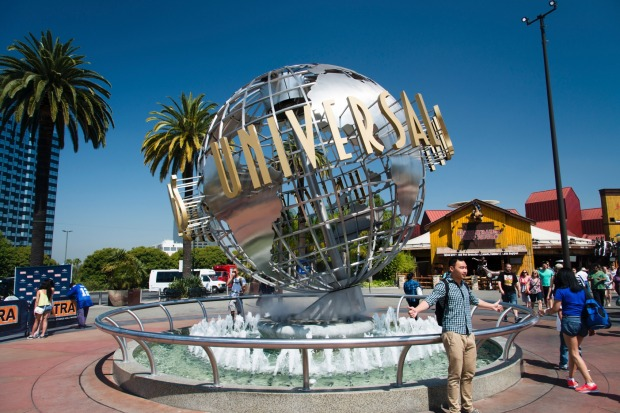 Universal Studios was the second most checked-in place - again, with four properties in California, Florida, Singapore ...