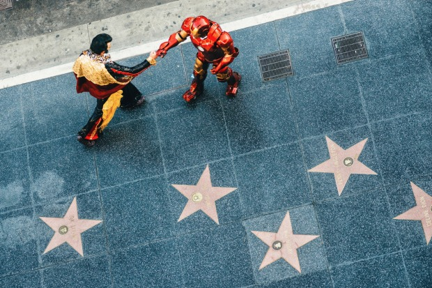 Hollywood's Walk of Fame is the 16th most checked-in place on Facebook, attracting about 10 million visitors annually.