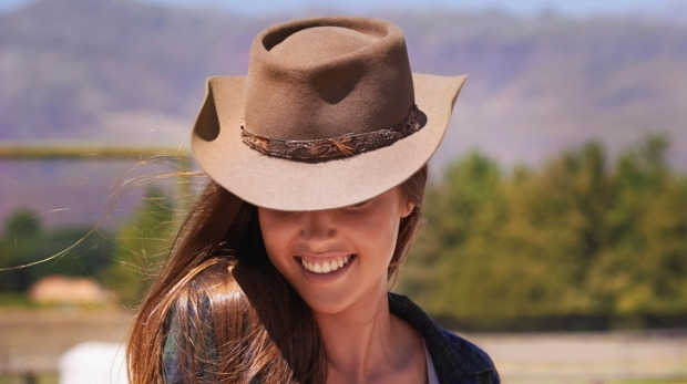 Don't visit Canada without purchasing an authentic cowboy hat.