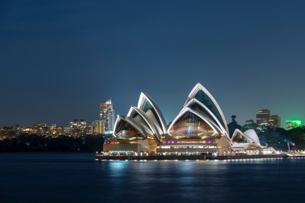 Architectural inspiration: The Sydney Opera House.
