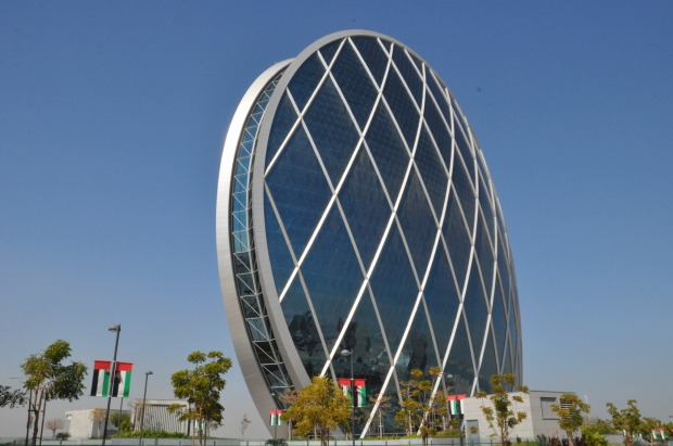 Aldar headquarters, Abu Dhabi: This distinctive building has been voted 'best futuristic design', and is the first ...