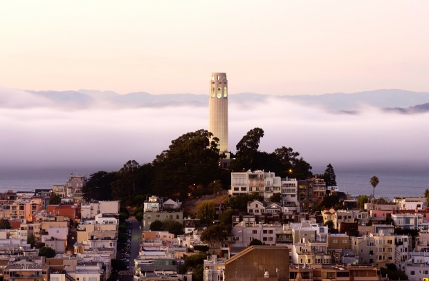 Coit Tower, San  Francisco: Many San Franciscans thought it was an eyesore when it was built in 1933. Some still do. The ...