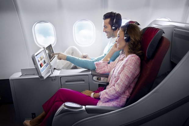 No.7 - Garuda Indonesia. Pictured: Business class on the Airbus A330.
