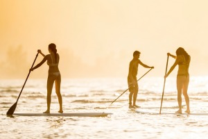 Maui's western coast is easily the world's most beautiful backdrop for a SUP session.