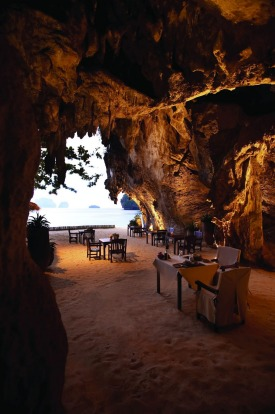 The Grotto, Rayavadee, Krabi, Thailand.