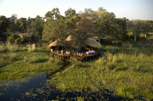 Baines Sanctuary Camp, Botswana.