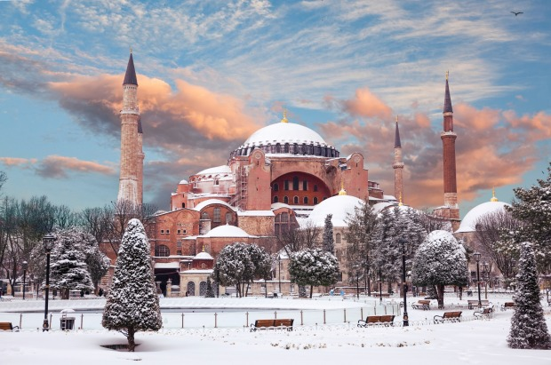 HAGIA SOPHIA, TURKEY: The architecture of what was originally a church was so brilliant for the 6th century that it ...