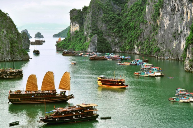 Students flock to south-east Asia to overcome their generation's malaise, and some even leave a positive impression ...