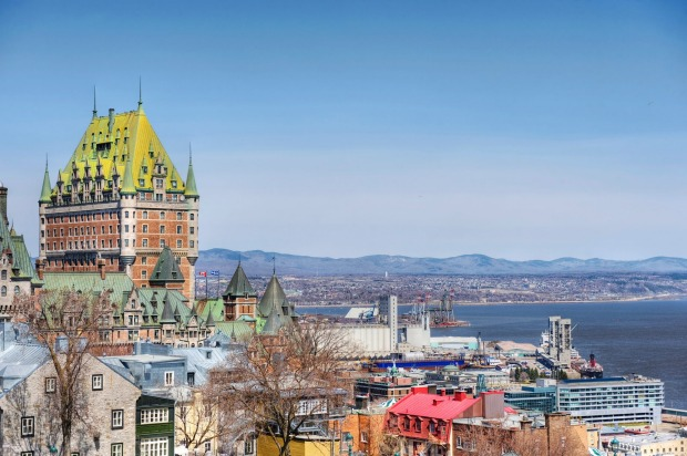 OLD QUEBEC, CANADA: The 17th century Old City of Quebec Site is a delightfully distinctive old city quite unlike ...