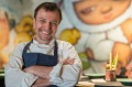 David Thompson, acclaimed chef of Thai cuisine, at Long Chim in Perth.