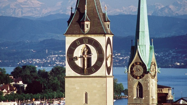 St.Peter's Church: Zurich's oldest church.