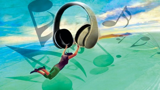 Music can instantly transport you to another time and place.  Illustration: Michael Mucci