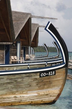 Dhoni suites which resemble fishing boats are unique to Cocoa Island.