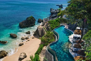 The Ayana resort, one of Bali's premier hotels.
