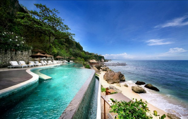 Ayana Resort in Jimbaran Bay, Bali.