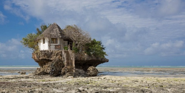 The Rock in Zanzibar.