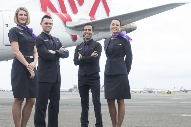 Virgin Australia has introduced a new uniform for its senior cabin crew members.