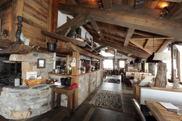 Restaurant Le Panoramic, Chamonix, France.