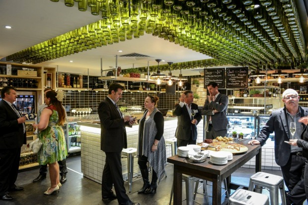 The Wined Bar at the National Wine Centre offers the largest wine tasting experience in Australia, with more than 120 ...
