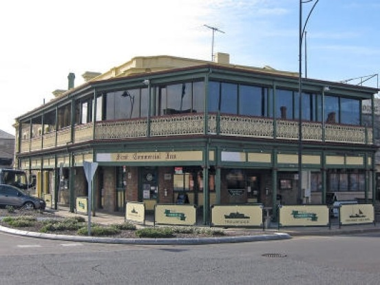 The First Commercial Inn in Port Adelaide.