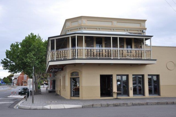The British Hotel in Port Adelaide.