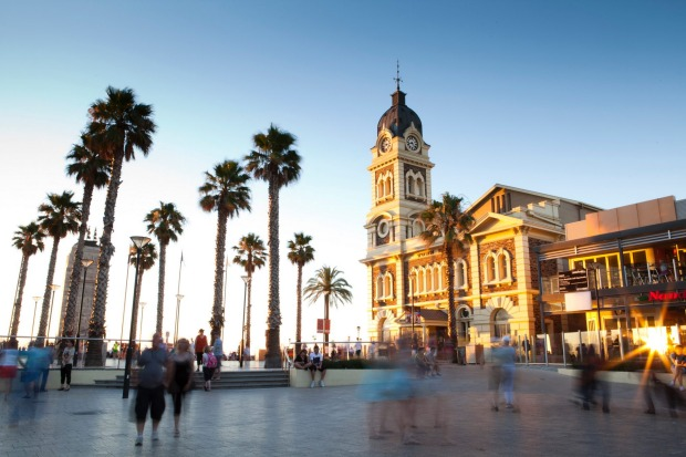 You'll find the Bay Discovery Centre upstairs in the Glenelg Town Hall, Moseley Square.