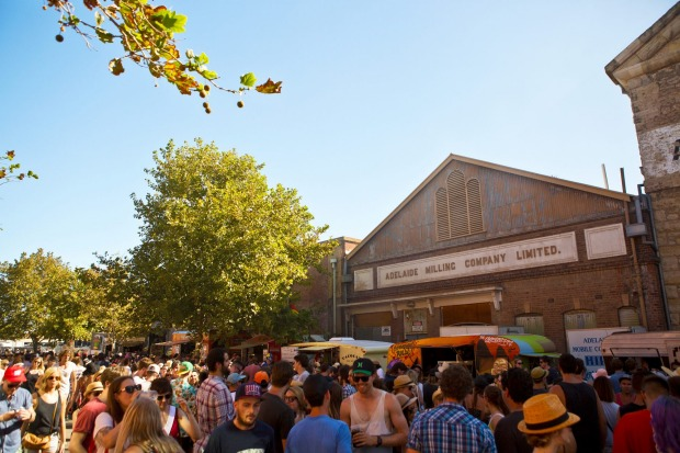 The Laneway Festival is held at Port Adelaide.