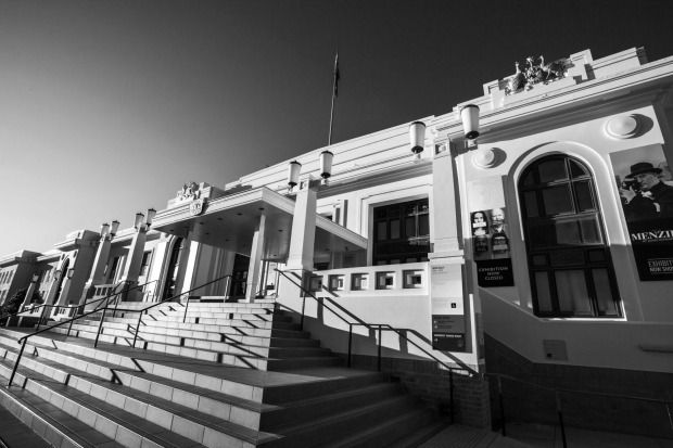 Old Parliament House, the Museum of Australian Democracy.
