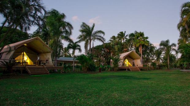 Glamping In The Cook Islands Luxury Camping With A