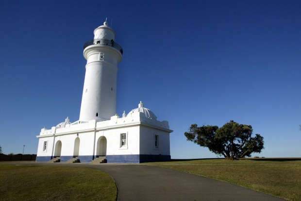 Macquarie Lighthouse on Old South Head Road.
