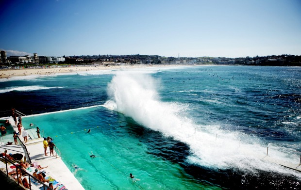 Icebergs at Bondi Beach.