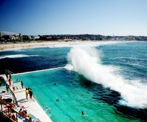 Bondi Beach's Icebergs - one place to chill out in coming days.