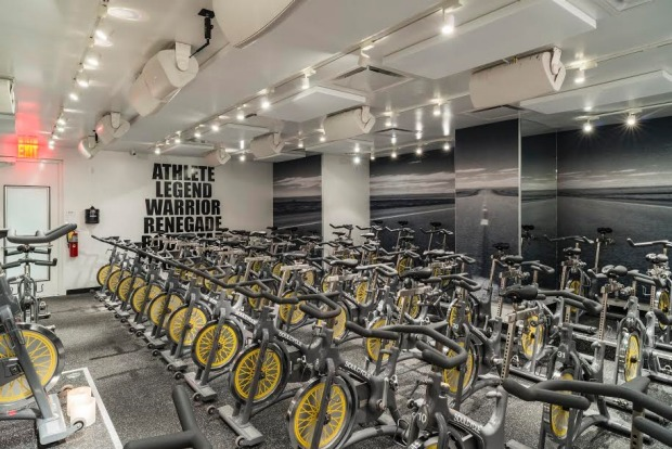 Soul Cycle, West Hollywood.