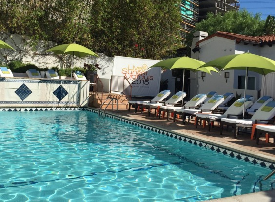 Sunset Marquis, West Hollywood.