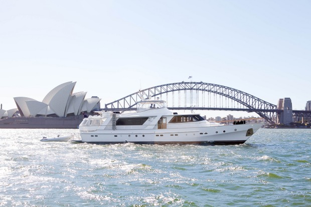The Hiilani offers a one-of-a-kind luxury cruising experience in Sydney.